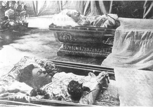 Archduke Ferdinand lying in state