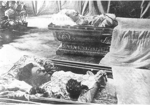 Archduke Ferdinand lying in state