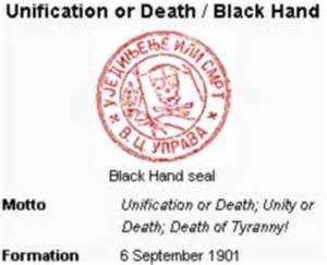Black Hand Seal and Motto