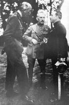 Wison, Joffre and Huguet, the men involved in secret 'conversations'