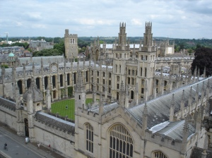 All_Souls_College_from_St_Mary's_Church