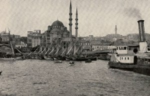The harbour at Constantinople, 1914