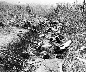 death in trenches... what 'delights'?