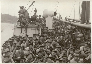 Churchill's Marines on way to Antwerp