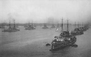 The German High Seas Fleet at Cuxhaven