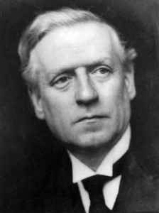 Herbert Asquith, prime minister from 1908-1916