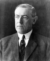 President Woodrow Wilson whose support the Zionists wanted made public.