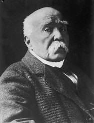 French Prime Minister Georges Clemanceau