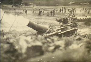 Verdun gunfire