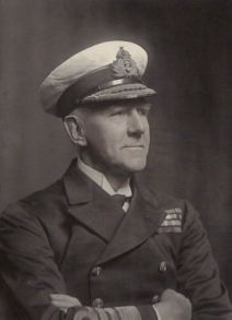 Admiral de Chair of 10th Cruiser Squadron