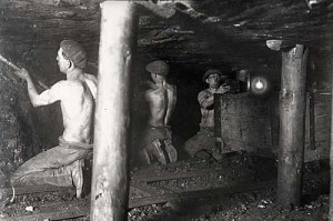 Digging for coal