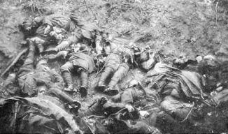 French War dead 1914-18