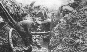 German trench 1914