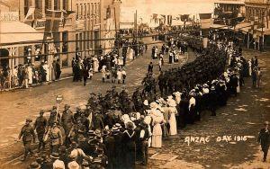 Anzac Day Parade 1916