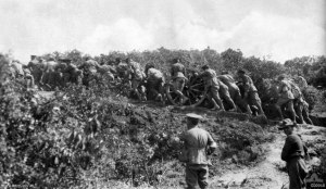 The uphill struggle at Gallipoli