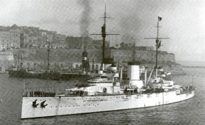 Goeben at Constantinople