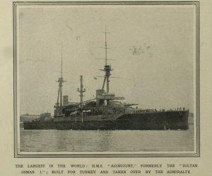 sultan osman 1914