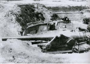 A Turkish gun defending the Dardanelles