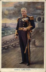 Admiral Lord Fisher, First Sea Lord of the Admiralty