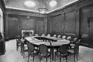 Board Room at Cunard Shipping Company