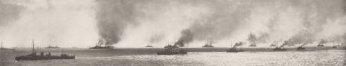 Bombarding the Dardanelles
