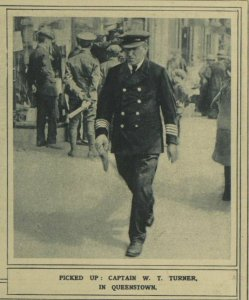 Captain Turner at Queenstown 1915