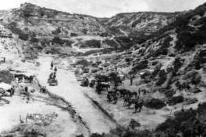 Gully Ravine Gallipoli, where the 1/7 Royal Scots faced further casualties and loss