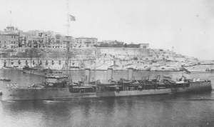 HMS Foresight at Malta