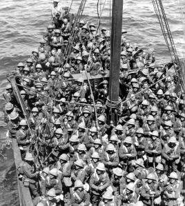 Lancashire Fusiliers at Gallipoli 1915