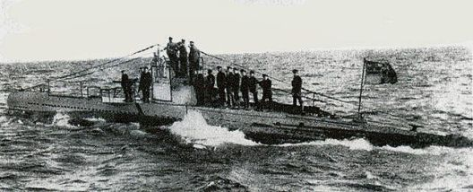 U-20 out in the Atlantic