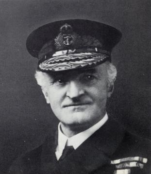 Captain William  'Blinker' Hall, later Admiral Hall