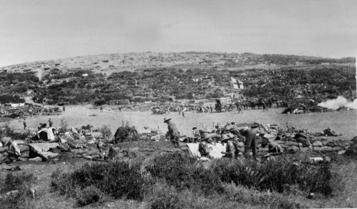 Suvla Bay, Gallipoli, 1915.