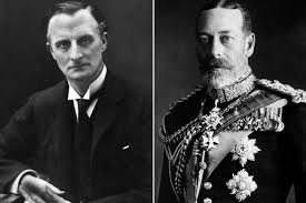 Sir Edward Grey (left) and King George V, both of whom questioned House before Lusitania was torpedoed