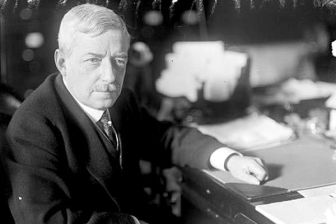 Robert Lansing, United States Secretary of State who replaced William Jennings Bryan
