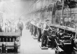 Vickers pre- First World War War Sheffield works