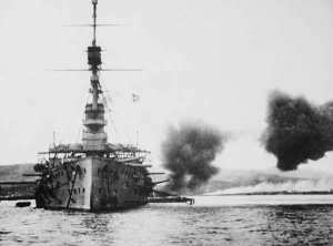 There was no shell-shortage of the British Navy