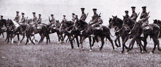 British Cavalry, 1914
