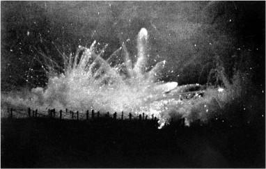 A barrage over Ypres