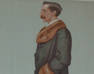 Sir Vincent Caillard, Vanity Fair print, 1897.