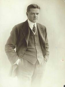 Hoover in his younger years.