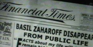 Zaharoff as a recluse still made news