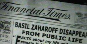 Zaharoff as a recluse still made news