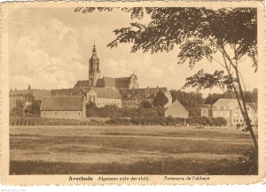 The Abbey at Averabode where Harry Beaumont was hidden by the monks.