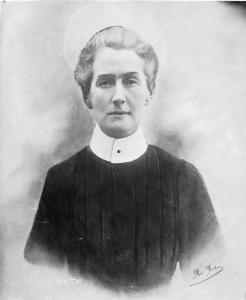 Edith Cavell in her matron's uniform