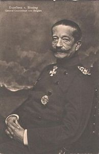 General Moritz von Bissing