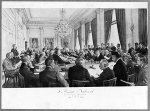 Comite National in Brussels. It considered itself a provisional government and acted accordingly.
