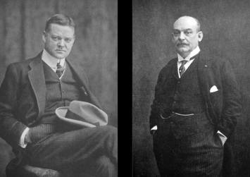 Hoover and Francqui; they grew to detest each other during the war