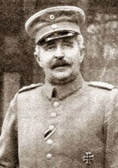 General von Sauberzweig, known to be a hard ruthless commander.