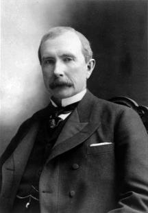 John D. Rockefeller of Standard Oil