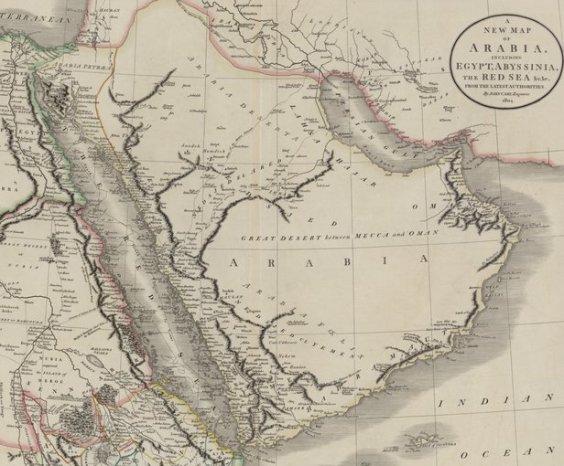 Arabian Gulf around 1900